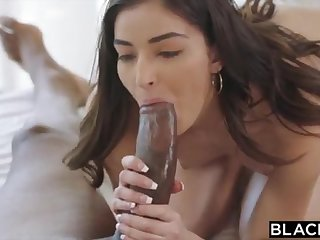 BLACKED School College Girl Vengeance Pounds Will not hear of Schoolteachers BIG BLACK COCK