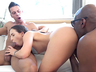 Interracial double-anal madness